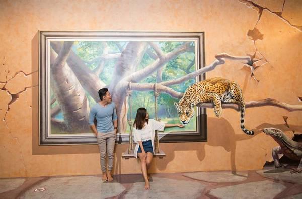 Bảo tàng tranh 3D Artinus đầy màu sắc